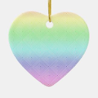 rombos spectral ceramic ornament