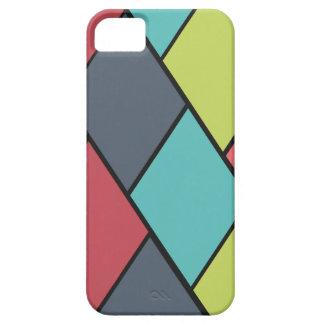 Rombos y modelo de las tejas iPhone 5 funda