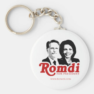 ROMDI FOR PRESIDENT png Keychains