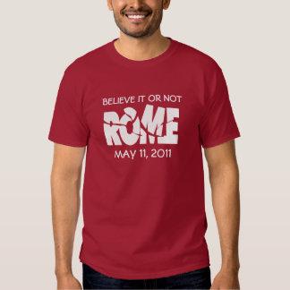 Rome 11 May 2011 Tee Shirt