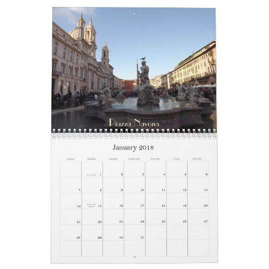 Rome 2013 calendar