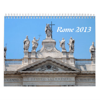 Rome 2013 Wall Calendar