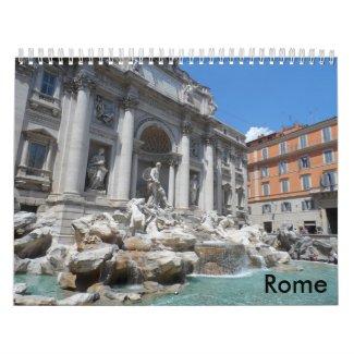 Rome 2016 calendar