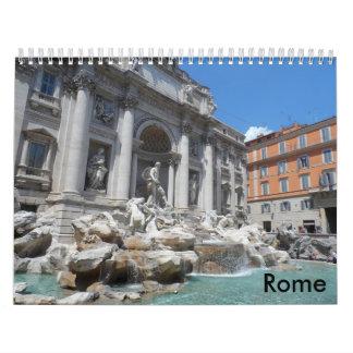 Rome 2018 calendar