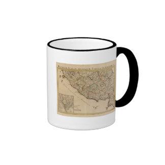 Rome and Italy Ringer Coffee Mug