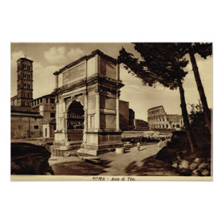 Rome, Arch of Titus Poster