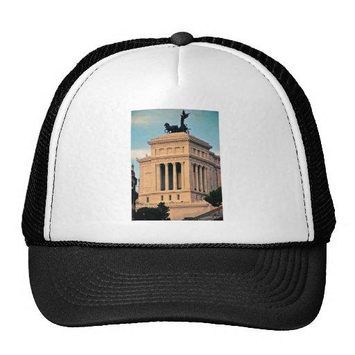 Rome architecture hats
