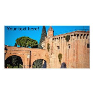 Rome architecture photo card
