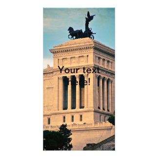 Rome architecture photo card template