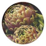 Rome artichokes plate