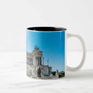 rome at its best Two-Tone coffee mug