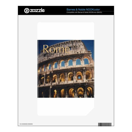 Rome at Night Skin For The NOOK Color