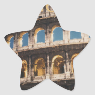 Rome at Night Star Sticker