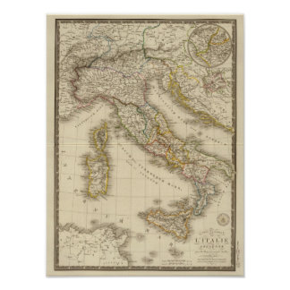 Rome Atlas Map Poster