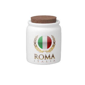 Rome Candy Jars