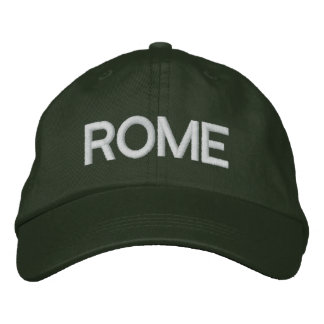 Rome Cap Embroidered Hats