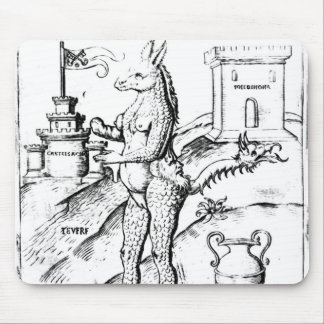 Rome, Capital of the World, 1596 Mouse Pad