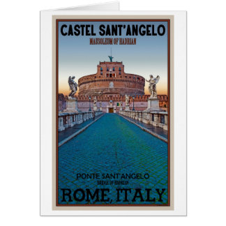 Rome - Castel Sant Angelo Greeting Cards