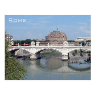 Rome - Castel Sant Angelo Postcard