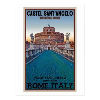 Rome - Castel Sant Angelo Postcards