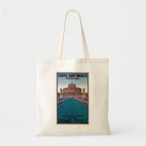 Rome - Castel Sant'Angelo Budget Tote Bag
