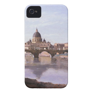 Rome, Castle Sant Angelo by Camille Corot Case-Mate iPhone 4 Case