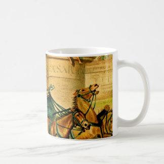 Rome Chariot Race Coffee Mug
