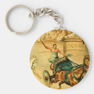 Rome Chariot Race Keychains
