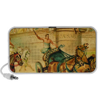 Rome Chariot Race Mp3 Speakers