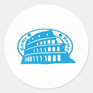 Rome Classic Round Sticker