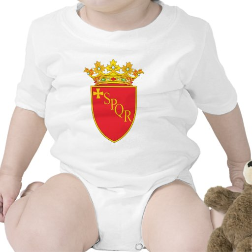 Rome Coat Of Arms Rompers