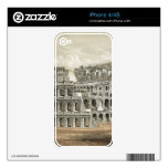 """""""Rome Coliseum"""" iPhone 4/4s custom skin Decals For The iPhone 4S"""