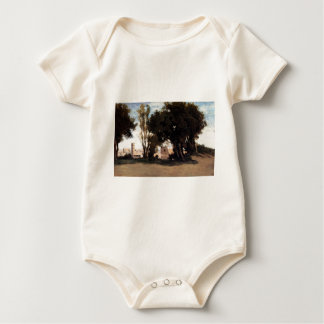 Rome, Coliseum, View from the Farnese Gardens Baby Bodysuits
