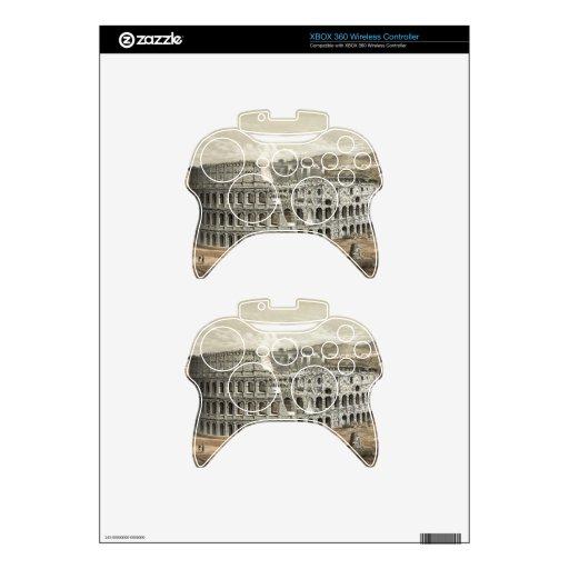 """Rome Coliseum"" XBOX 360 wireless controller skin Xbox 360 Controller Skins"