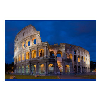 Rome Colleseum poster FROM 8.99