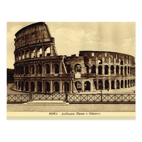 Rome,Colosseum  1890 Postcard