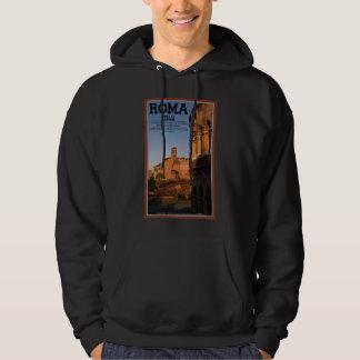 Rome - Colosseum and Temple of Venus Hooded Sweatshirt