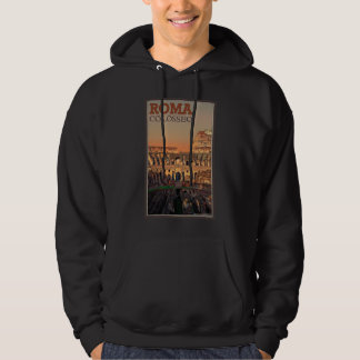 Rome - Colosseum and the Moon Hoodie