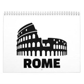 Rome colosseum wall calendars