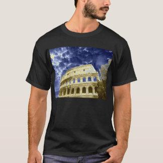 Rome Colosseum cloudy blue sky 1 T-Shirt