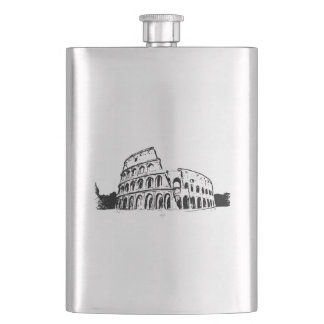 Rome Colosseum Flask