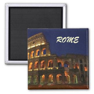 rome colosseum MAGNEgeratoT 2 Inch Square Magnet