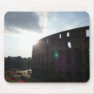Rome Colosseum zazzle_mousepad