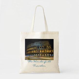 Rome Colosseum Night Tote Bag
