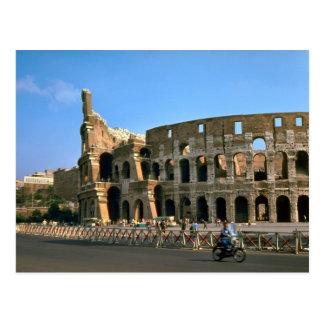Rome; Colosseum Postcard