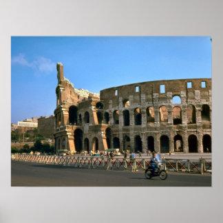 Rome, Colosseum Poster