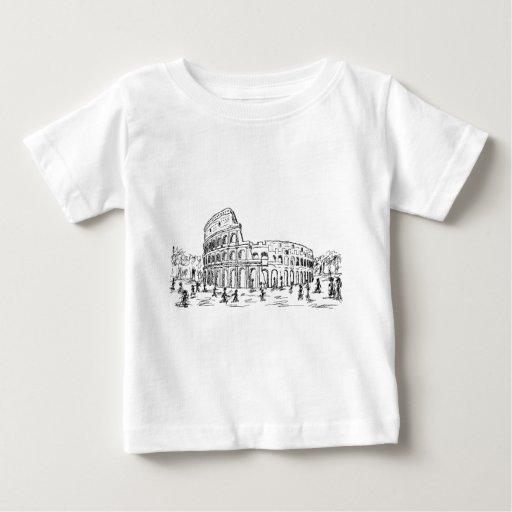 rome colosseum t shirt