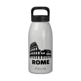 Rome colosseum drinking bottle