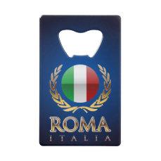 Rome Credit Card Bottle Opener
