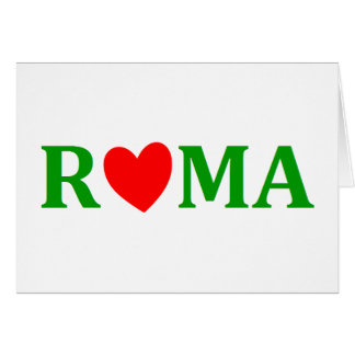 Rome Eternal City Card